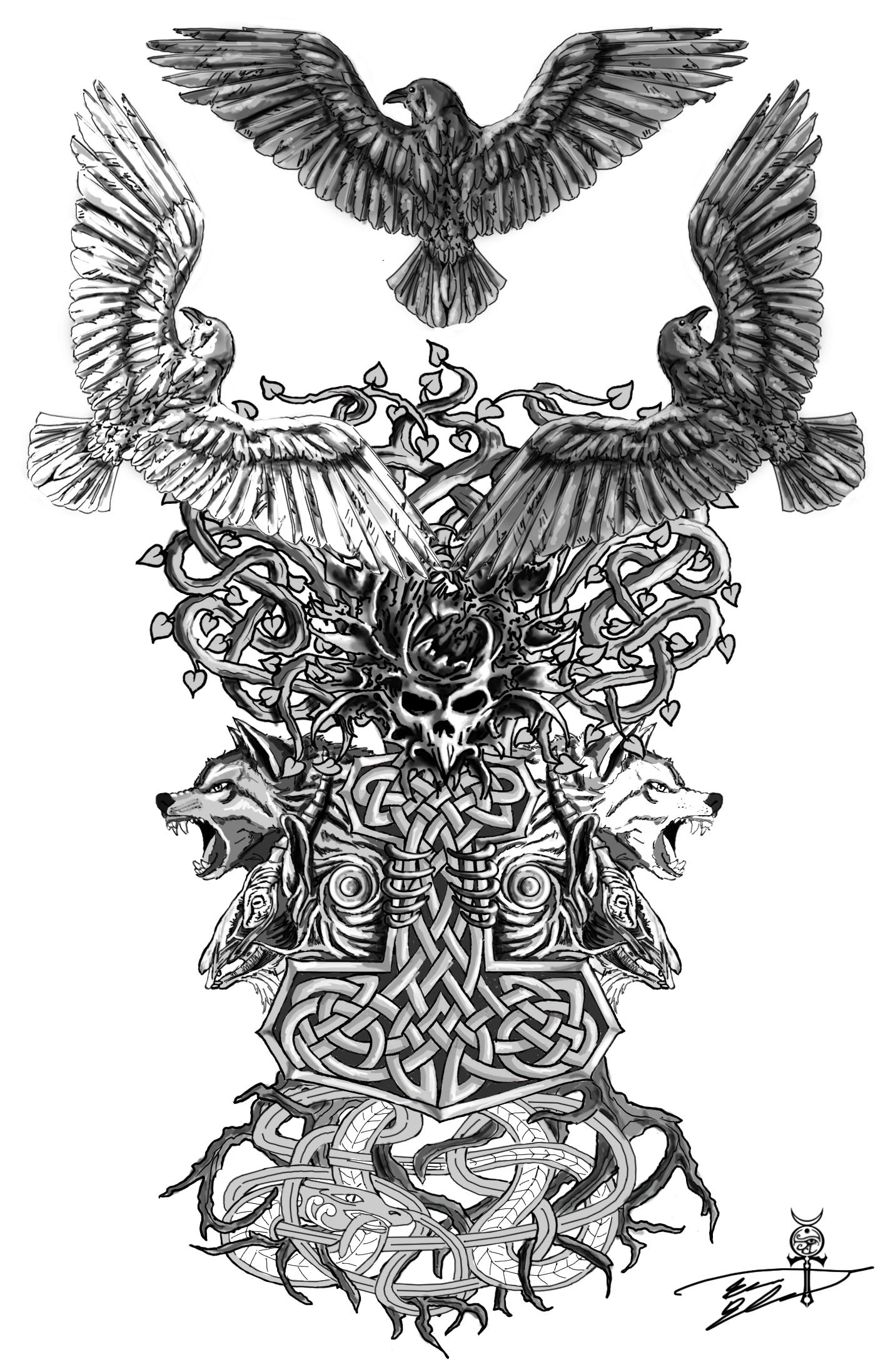 Gabriel Tattoo