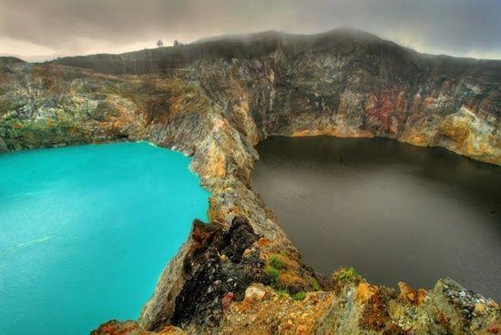 The Lake of Evil Spirits
