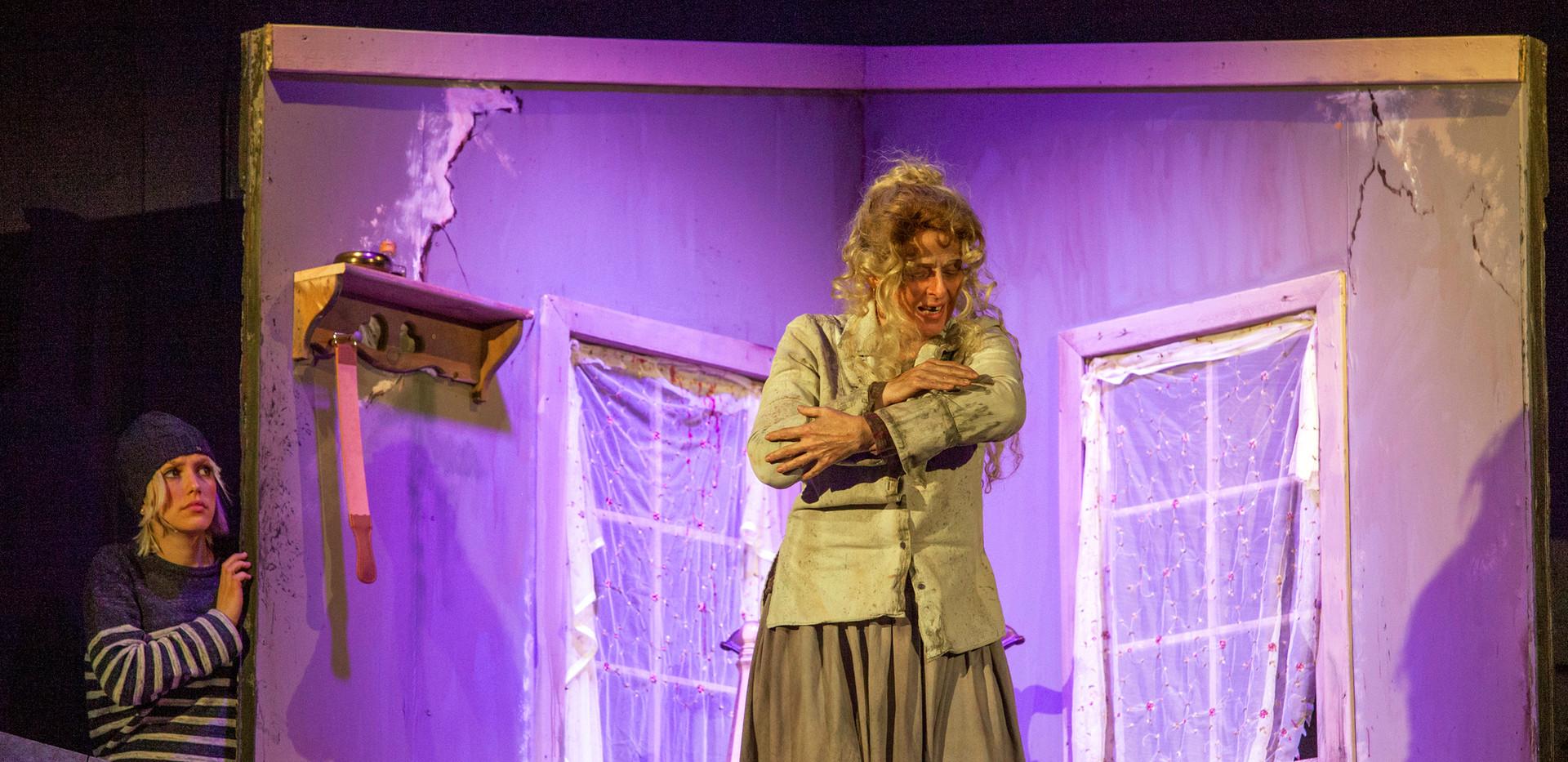 Johanna in disguise & Beggar Woman