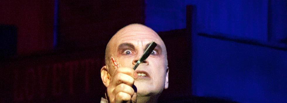 Jon Hey as Sweeney Todd