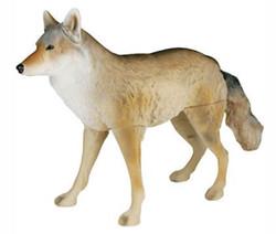 Señuelo coyote flocado