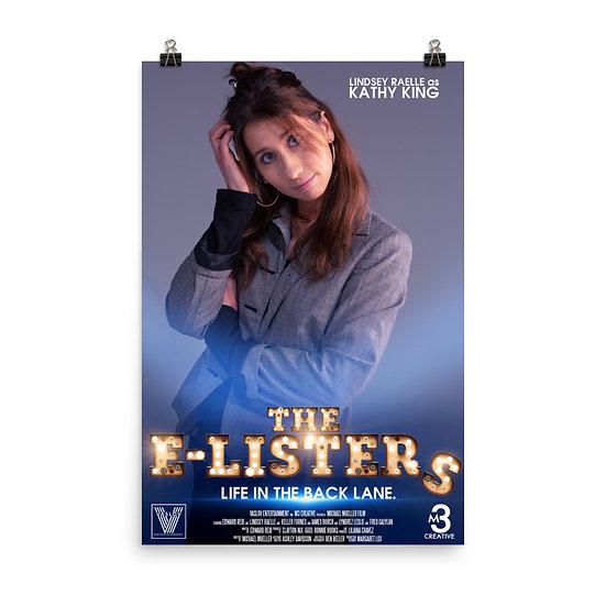 LINDSEY RAELLE - KATHY KING POSTER (The E-LISTER'S)