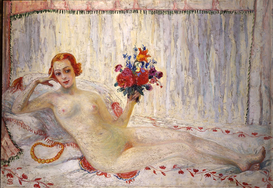 Florine Stettheimer Zelfportret