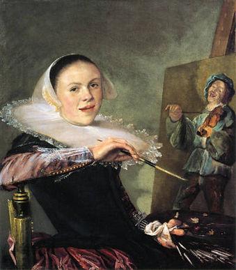 Judith Leyster Zelfportret