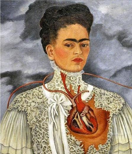 Frida Kahlo Zelfportret