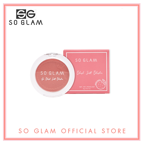 So Glam Go Blush Soft Blusher Biscuit Party Collection 08 Rose Ladyfinger