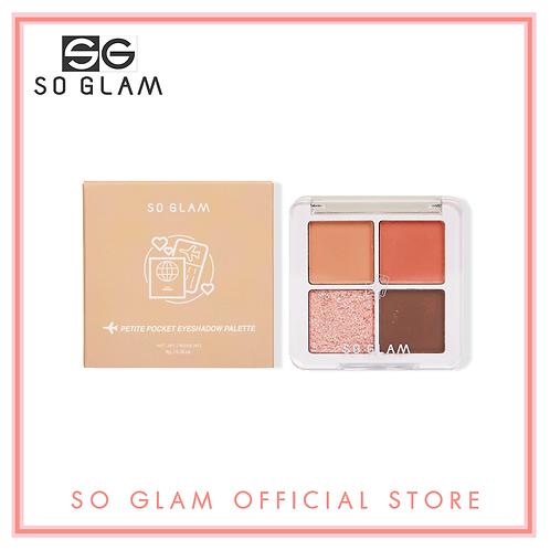 So Glam Petite Pocket Eyeshadow Palette 01 Big Ben