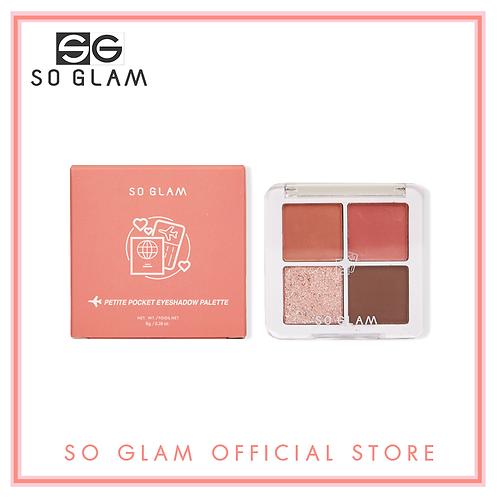 So Glam Petite Pocket Eyeshadow Palette 02 Golden Gate Bridge