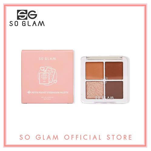 So Glam Petite Pocket Eyeshadow Palette 03 Tokyo Midtown