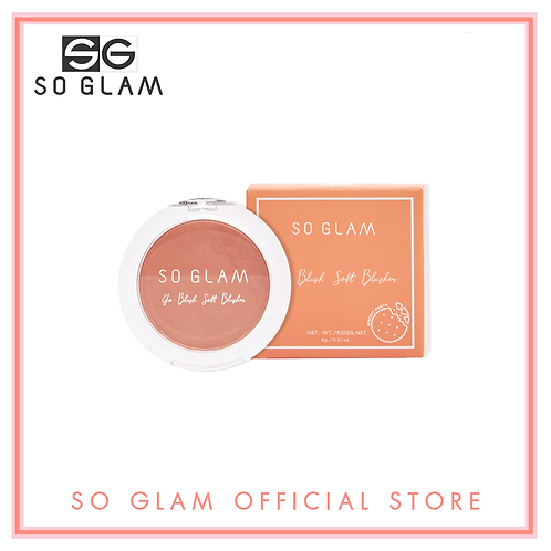 So Glam Go Blush Soft Blusher Biscuit Party Collection 10 Orange Cremisicle