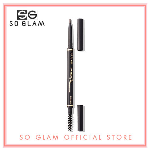 So Glam Go Brow Slim Slim Eyebrow Pencil 02 Chocolate