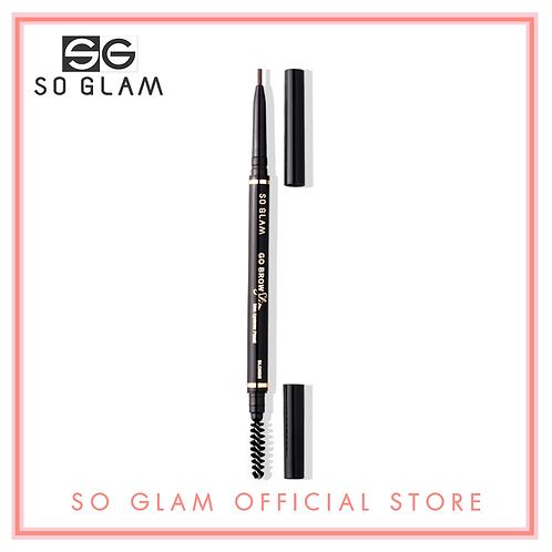So Glam Go Brow Slim Slim Eyebrow Pencil 04 Blonde