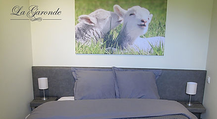 Chambre des Moutons la Garonde Maison d'Hôte