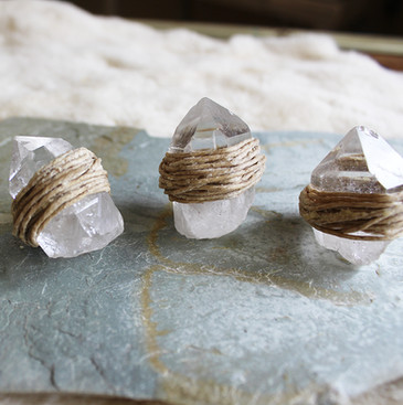 Hemp Wick Crystals