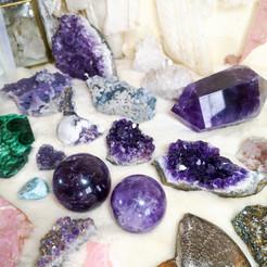 Amethyst and Fluorite