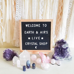 Welcome to Earth and Air's Online Crystal Shop