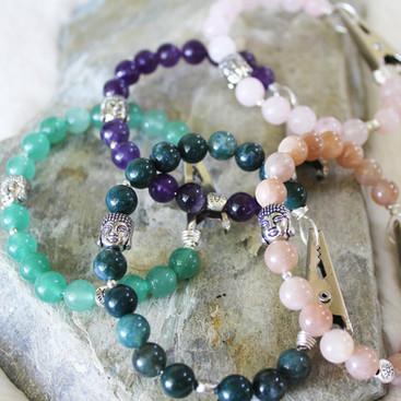 Crystal Roach Clip Bracelets