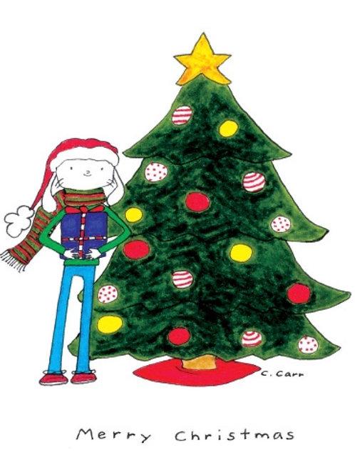 84 - Merry Christmas (purple box)