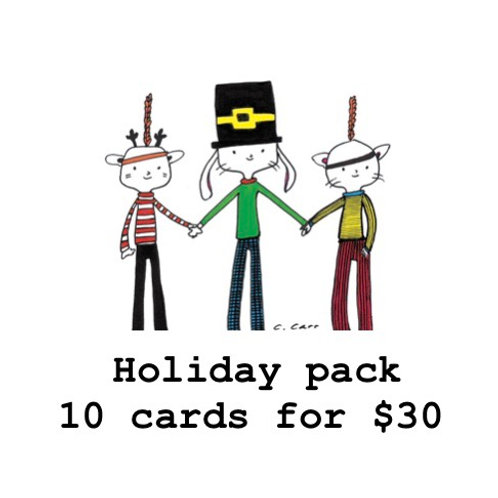 Holiday pack... 10 cards for $30