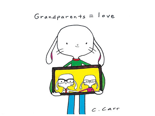 80 - Grandparents = Love