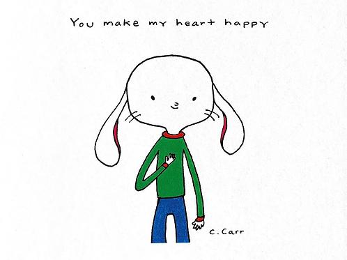 75 - You make my heart happy
