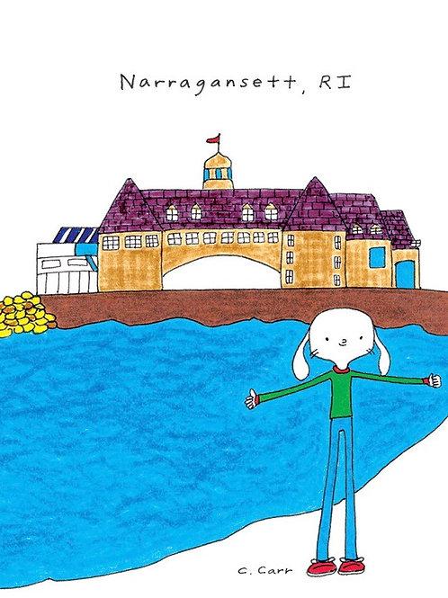 91 - Narragansett, RI    *new card*