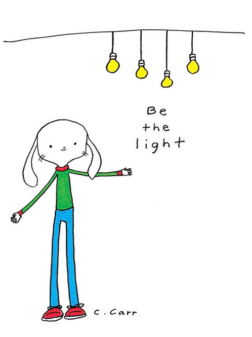 90 - Be the light