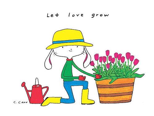 9 - let love grow