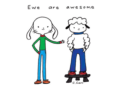 85 - Ewe are awesome