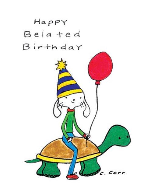 87 - Happy Belated Birthday