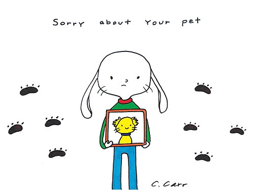 37 - sorry about your pet