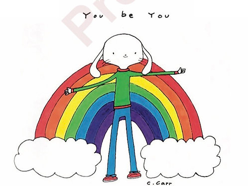 98. You be you