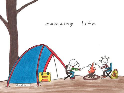 92. camping life
