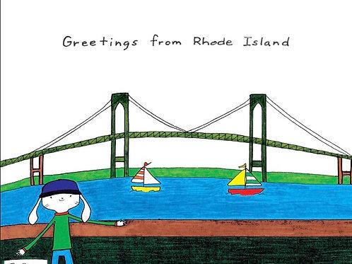 16 - Greetings from Rhode Island