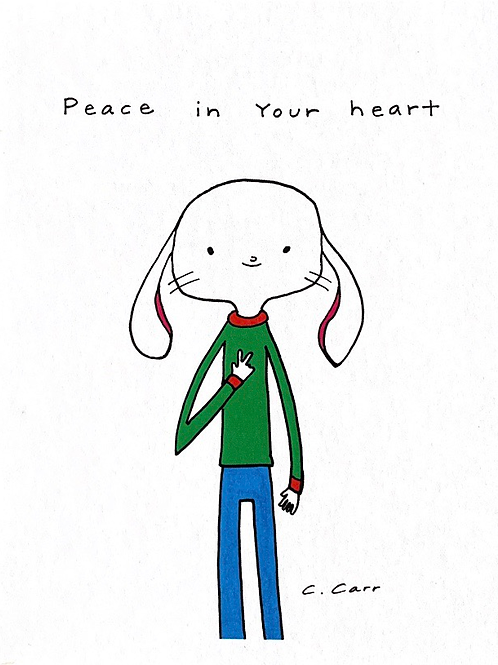 73 - Peace in your heart