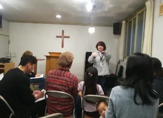 Our first Gospel class♪