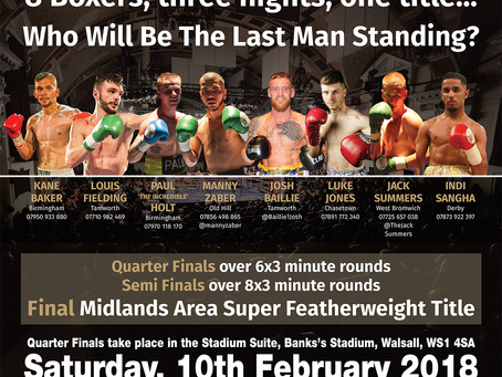 BCB's Midlands Boxing Super Series: The Super Featherweights