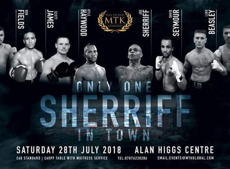 MTK Only One Sheriff in Town
