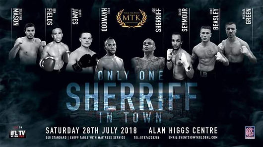 MTK Only One Sheriff in Town | Bbcolumn com | UK | Birmingham Boxing