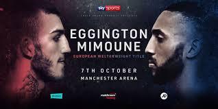 Eggington Loses European Title on Split Deision