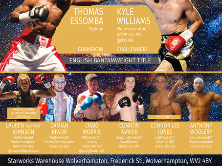 EMERGING STARS MOVED TO WILLENHALL PLUS PRESS CONFERENCE & WEIGH-IN LOCATION CONFIRMED