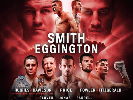 Big Fight News For Eggington