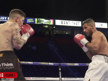 Gamal Yafia gets TKO victory