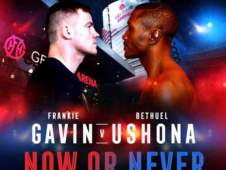 BREAKING NEWS! Gavin Fight Pushed Back