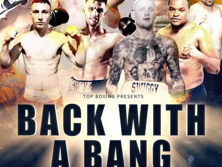 Back With A Bang Tommy Owens Promotions  Undercard