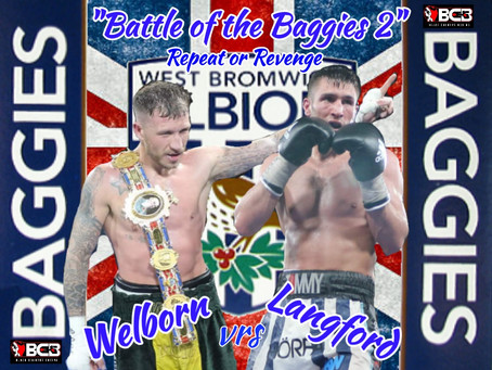 Welborn/Langford  Rematch Approved