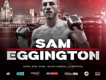 Eggington returned on Khan Show at new weight