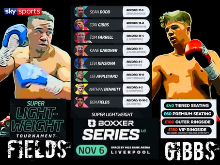 Fields & Gibbs  In Ultimate Boxxer Event