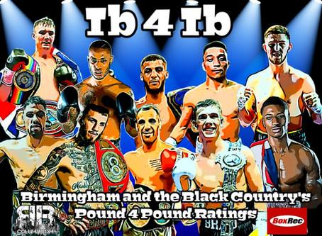 The Birmingham Boxing Column's Pound 4 Pound