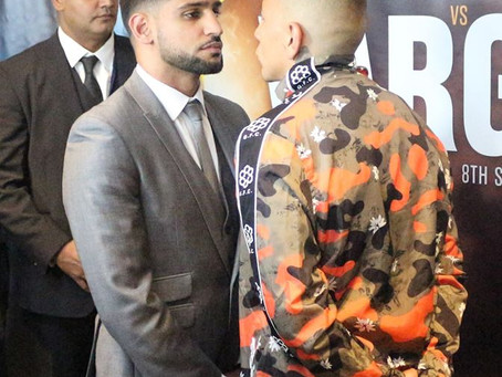 KHAN FACES SAMUEL VARGAS IN BIRMINGHAM